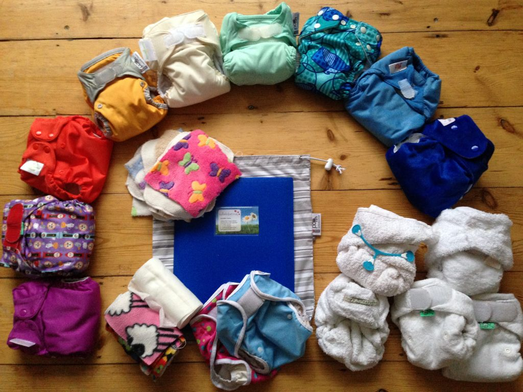 The Devon Real Nappy Project Trial Nappy Kit